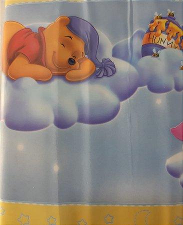 Faixa Adesivo De Parede Infantil Disney Pooh