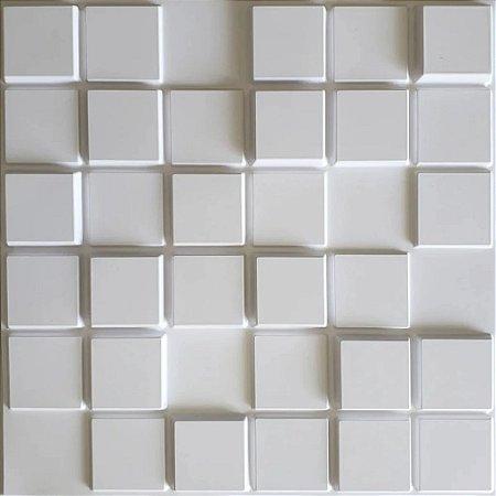 Placa 3D adesiva Pixel - 50 cm x 50 cm - Autoadesiva 3M