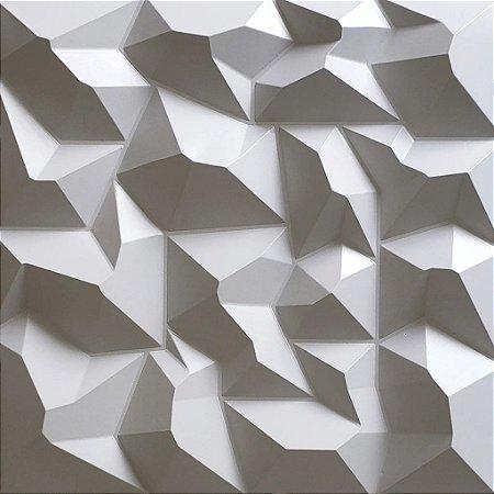 Placa 3D adesiva Alpes  - 50 cm x 50 cm - Autoadesiva 3M