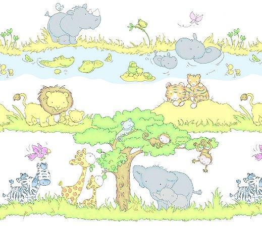 Faixa Papel de Parede infantil Floresta 10 Metros - Dream World