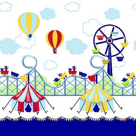 Faixa Papel de Parede Dream Word A109-1 circo 0,52m X 10m