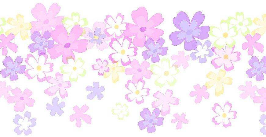 Papel de Parede Dream Word Floral - 1,06m x 15m