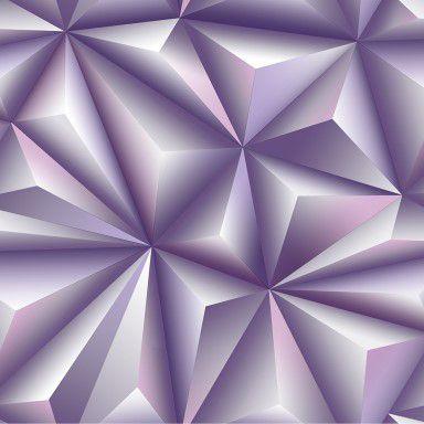 Papel de Parede 3D Lilás, 0,53cm x 10,00m