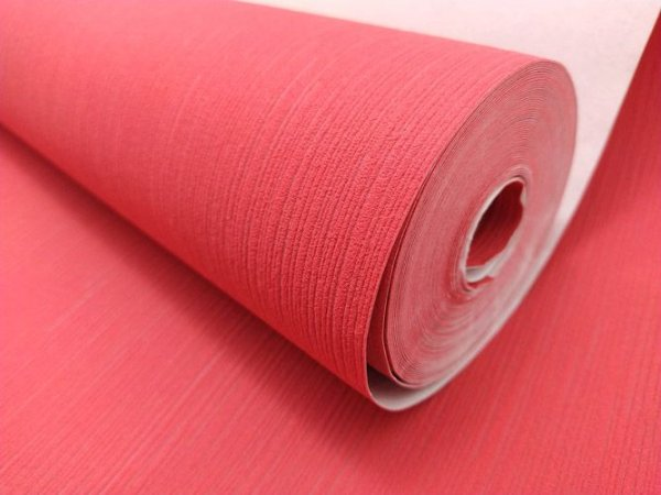 Papel de Parede Textura Vermelho 10 Metros