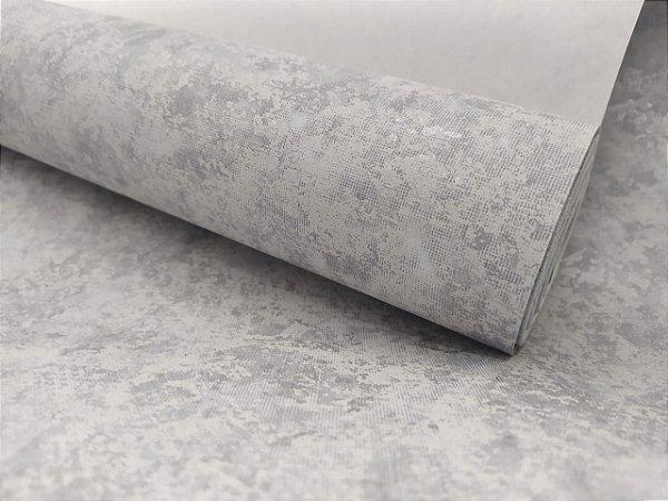 Papel de Parede Cimento Queimado Mesclado 10 Metros
