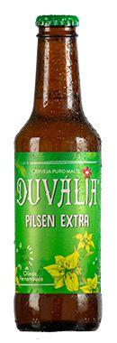 DUVÁLIA PILSEN EXTRA 275 ml (CAIXA C/ 12 UNID.) PROMOÇÃO!
