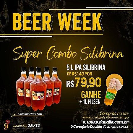 SUPER COMBO SILIBRINA - BLACK FRIDAY (5L IPA + 1L PILSEN)