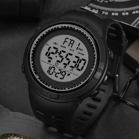 Relógio Esportivo Modelo Militar Round DT1 Original à Prova D'água