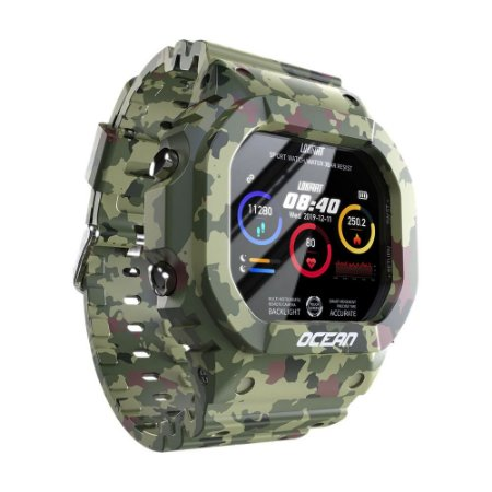 Relógio Smartwatch Lokmat Tatic Ocean Serie 2021 Unissex