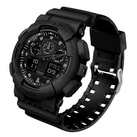 Relógio Militar Sanda S-Shock OL3099 Original À Prova D'água