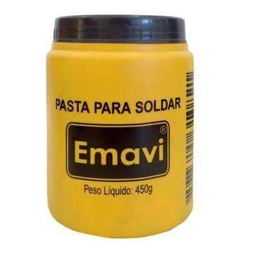 PASTA PARA SOLDA POTE 450g EMAVI