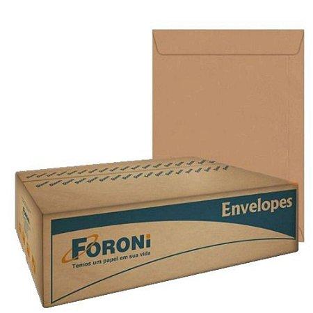 ENVELOPE SACO KRAFT NATURAL 260X360MM 250 UNID. 80GR. FORONI