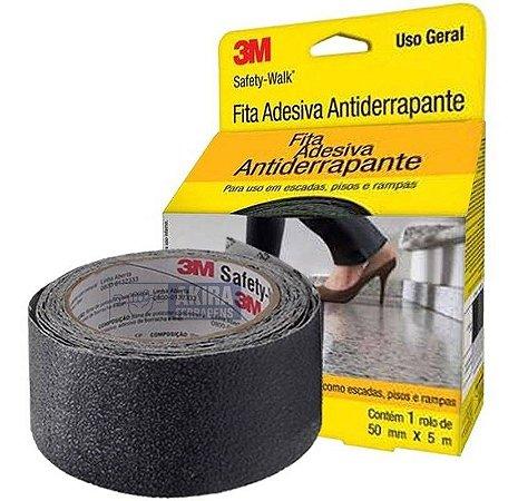 FITA ANTIDERRAPANTE SAFETY WALK PRETO 50MMX5M 3M(14844)
