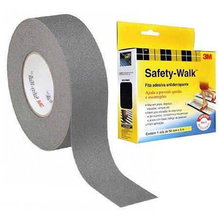 FITA ANTIDERRAPANTE SAFETY WALK CINZA 50MMX5M 3M