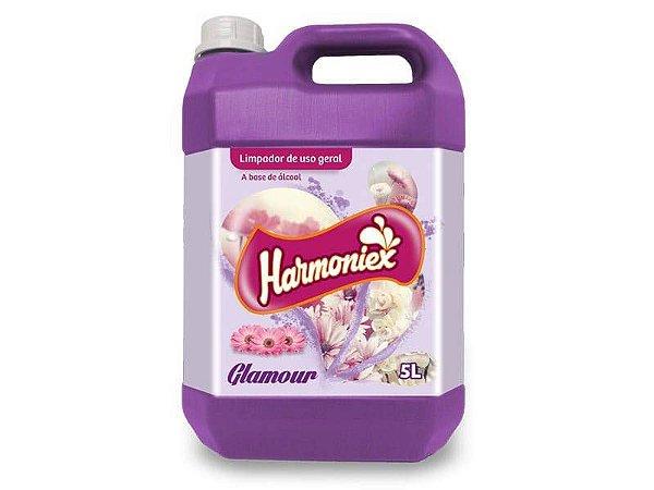 LIMPADOR COM ÁLCOOL 5L. GLAMOUR HARMONIEX