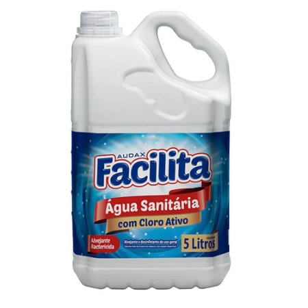 ÁGUA SANITÁRIA 5L. FACILITA AUDAX