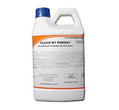 DESINFETANTE E LIMPADOR GERAL 2L. CLEAN BY PEROXY SPARTAN