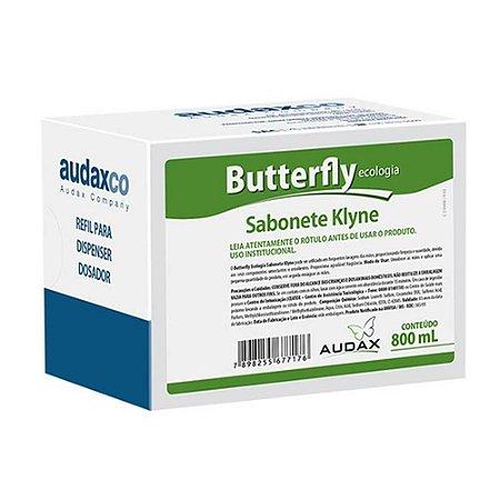 SABONETE LÍQUIDO 800ML. TALCO KLYNE REFIL BUTTERFLY ECOLOGIA AUDAX