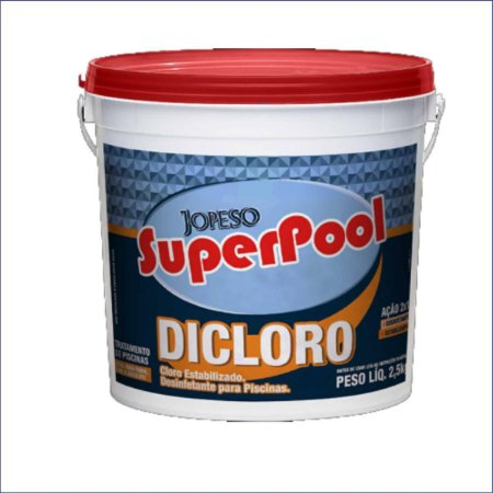 DICLORO CLORO ORGÂNICO 10KG. SUPER POOL AUDAX