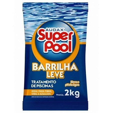 BARRILHA LEVE (ELEVADOR DE PH) 2KG. SUPER POOL AUDAX