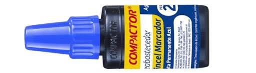 TINTA PARA MARCADOR PERMANENTE 20ML COMPACTOR