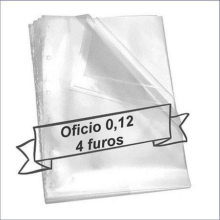 SACO PLASTICO OFICIO 4 FUROS 0.12 MICRAS C/100 ACP