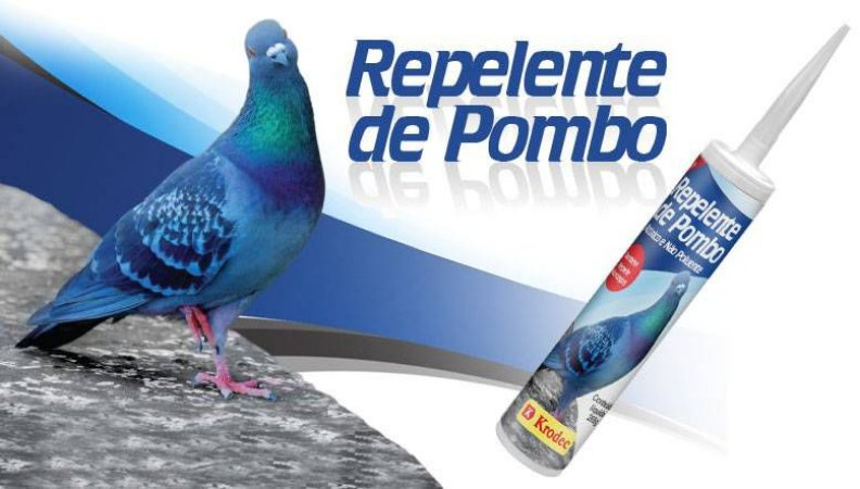 REPELENTE P/POMBO E MORCEGO 265GR.KRODEC