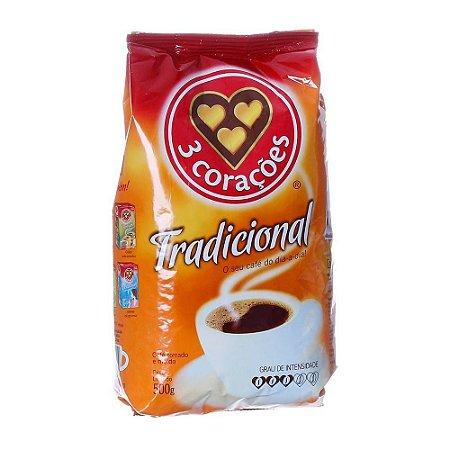 CAFÉ TRADICIONAL ALMOFADA 500GR.3 CORAÇÕES