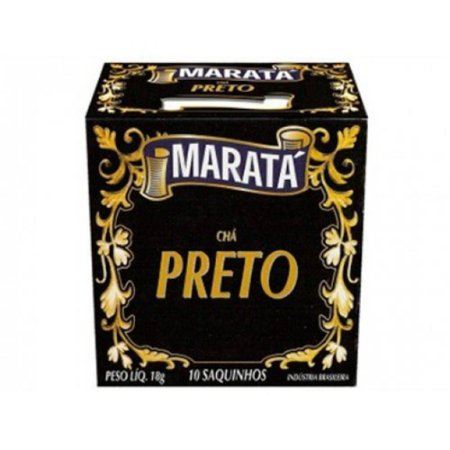 CHA PRETO 18G MARATA