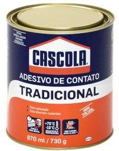 ADESIVO DE CONTATO 730GR. S/TOLUOL CASCOLA(400)