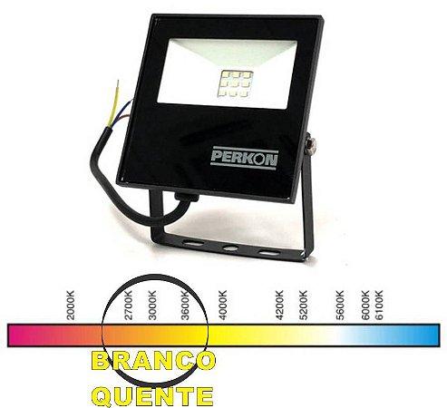 REFLETOR LED 10W BQ PERKON