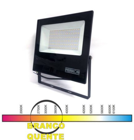 REFLETOR LED 100W BQ PERKON