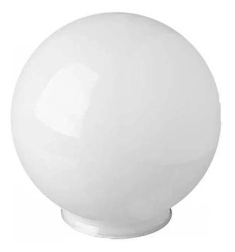 GLOBO VIDRO 15X28 LEITOSO C/COLAR GLASES