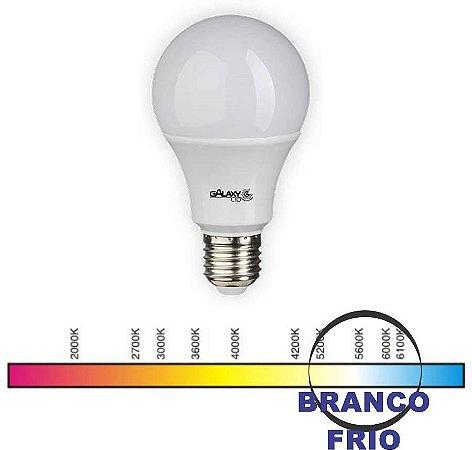 LED A60 12W 6000K BIVOLT E27 Ø60X115MM GALAXY