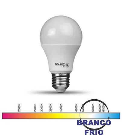LED A60 07W 6500K BIVOLT E27 GALAXY
