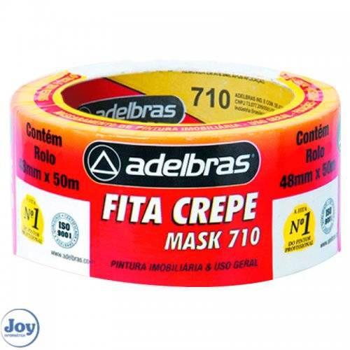 FITA CREPE MASK 48MMX50M 710 ADELBRAS