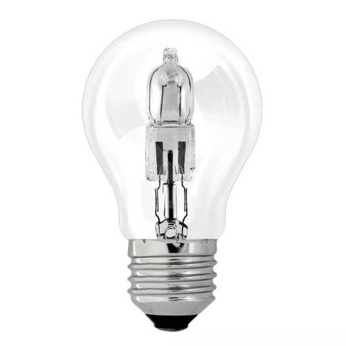 LAMPADA HALOGENA BULBO 70W 220V E27 ECOLUME