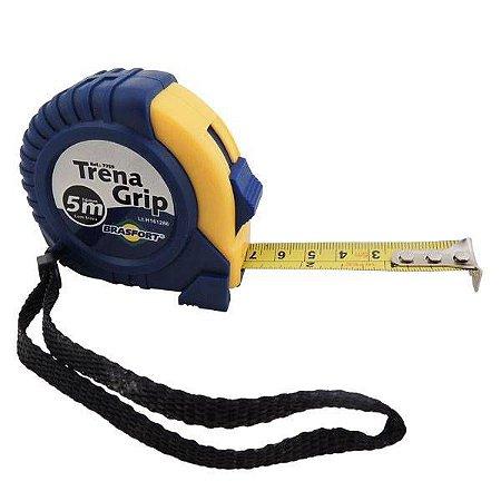 TRENA EMBORRACHADA GRIP 5M/16MM COM TRAVA 7759 BRASFORT