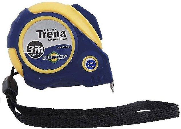 TRENA EMBORRACHADA GRIP 3M/16MM COM TRAVA 7758 BRASFORT