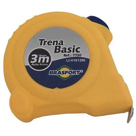 TRENA AUTO-TRAVA BASICA 3M/16MM 7750 BRASFORT