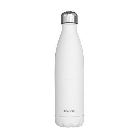 Garrafa Térmica Grey Branca 750ml  - KOUDA