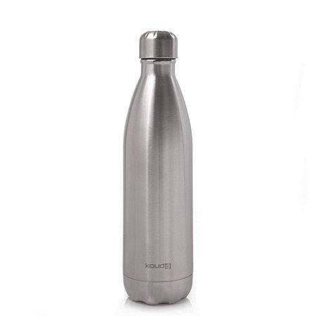 Garrafa Térmica Grey Prata 750ml  - KOUDA