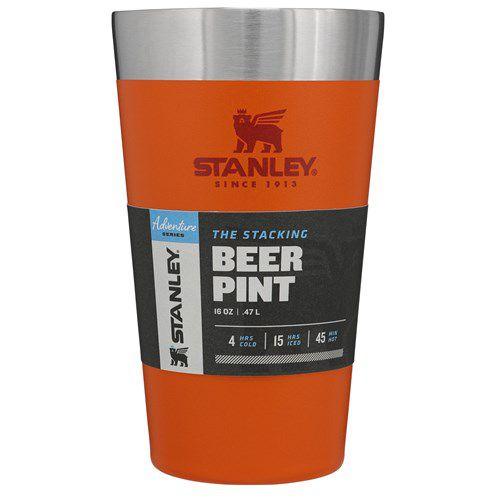 Copo Térmico de Cerveja 473ML Laranja - STANLEY