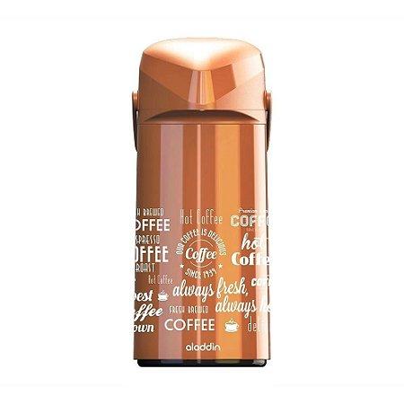 Garrafa Térmica Massima Coffe Marrom 1,8L  - Aladdin