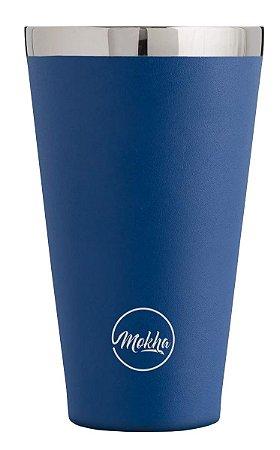 Copo Térmico de Cerveja Magic Beer Azul 473ml - MOKHA