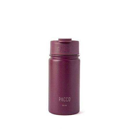 Tumbler Térmico com Infusor 350ml Vinho - PACCO