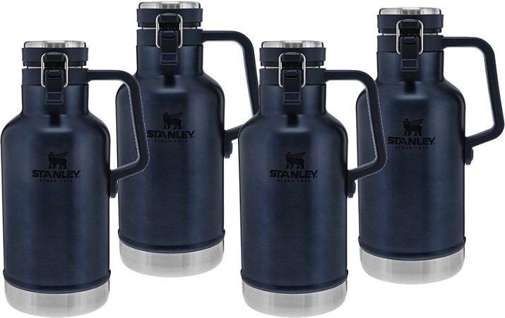 Kit Promocional - 4 Growlers Térmicos Azul Nightfall - STANLEY
