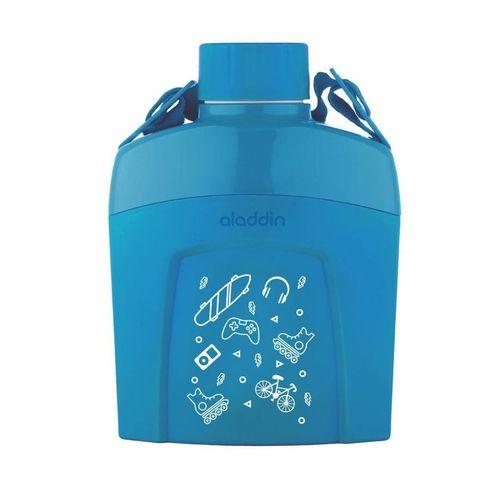 Cantil Térmico Kids 600ml Azul Claro - Aladdin