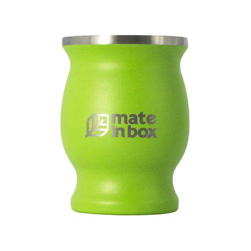 Cuia Térmica Guayrá Verde 250ml - Mate in Box