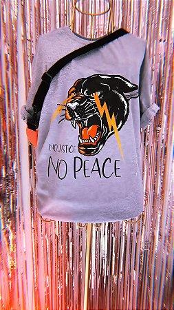 Camiseta No Justice No Peace